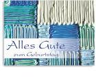 """Geburtstagskarte """"Zahnpasta-Collage"""""""
