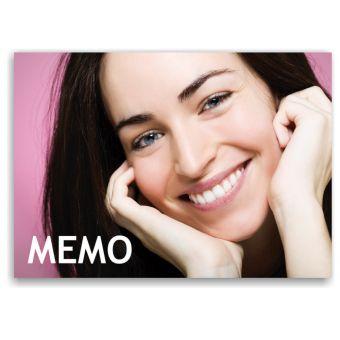 Recallkarten, Motiv Memo