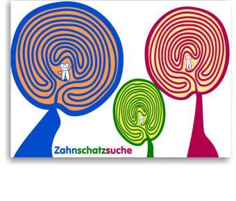 Recallkarten für Kinder, Motiv Labyrinth