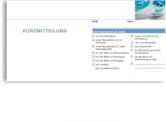 Kurzbrief, Motiv Accessoires