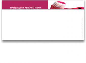 Recall-Mitteilung, Motiv Zahnbürste