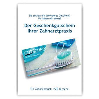 A4-Poster Geschenkgutscheine im Acrylständer, Motiv Accessoires