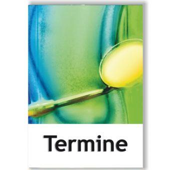 Terminkärtchen, Motiv Zahngesundheit