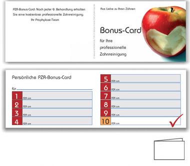 10er PZR-Bonushefte, Motiv Herzapfel