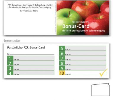 10er PZR-Bonushefte, Motiv Äpfel