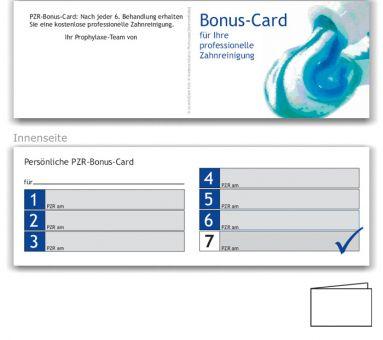 7er PZR-Bonuspass, Motiv Aquarell