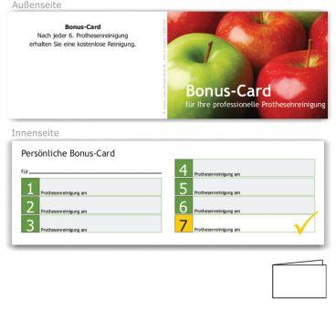 7er Bonuspass, Motiv Äpfel