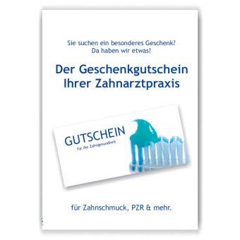 A3-Poster Geschenkgutscheine, Motiv Putzbereit