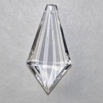 Regenbogenkristall, flaches Prisma