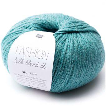 50g Rico Design Fashion Silk Blend dk Smaragd