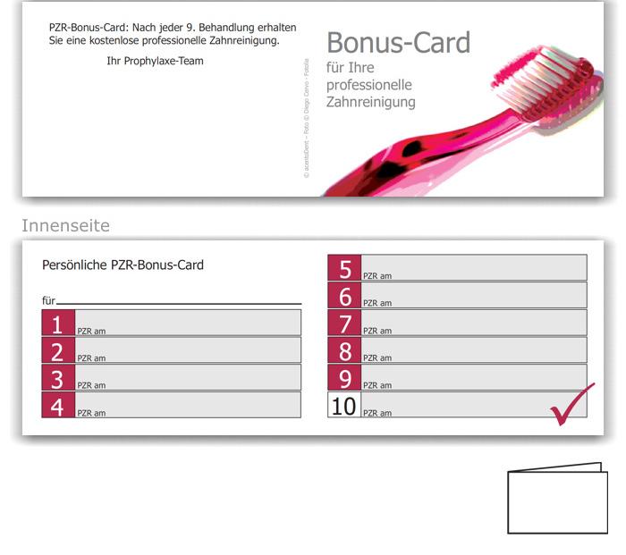 10er PZR-Bonushefte, Motiv Zahnbürste