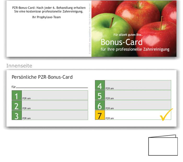 7er PZR-Bonuspass, Motiv Äpfel