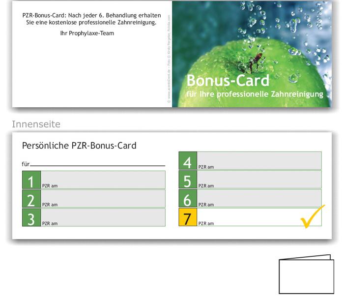 PZR-Bonuspass, Motiv Frische